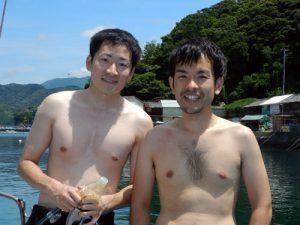 下鶴さん&馬原さん