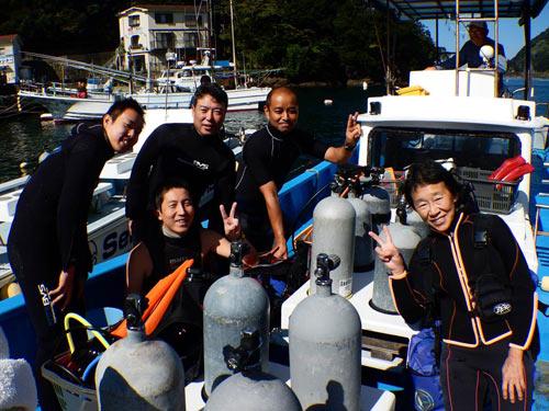 塚田さん&乙黒さん&三戸さん&車田さん&井上さん
