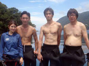 増田さん&溝渕さん&氏田さん&谷脇さん