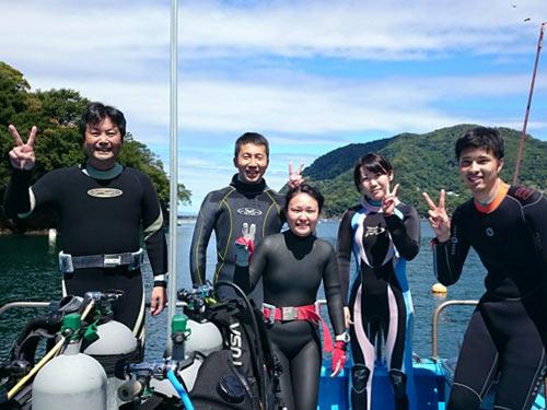 風間さん&三戸さん&沖さん&望月さん&山田さん