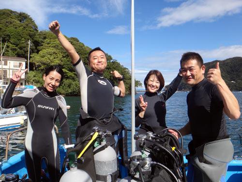 森さん&遠藤さん&尾万さんご夫婦