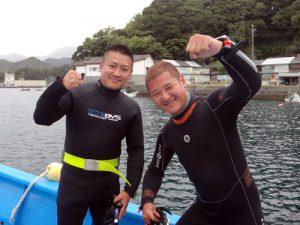 岩田さん&オーナー藤井