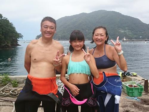 奥田さんご家族
