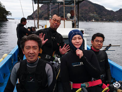 高田さん&押之見さん&鳥波さん&樋野さん