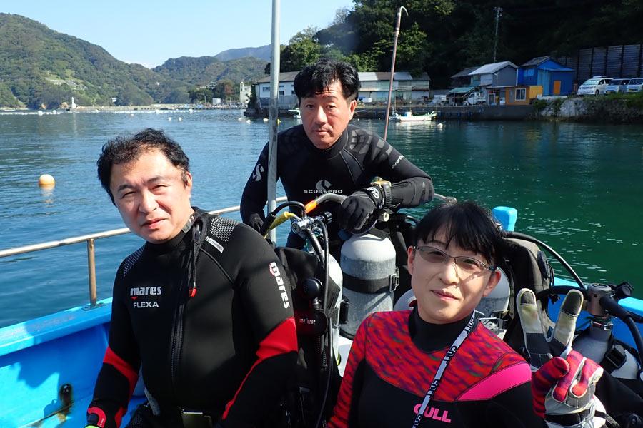 斉藤さん&勝俣さん&戸島さん